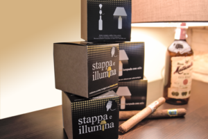 Stappa e illumina idea regalo