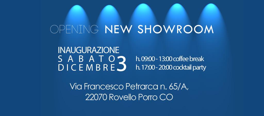 Scopri il nostro nuovo Showroom!