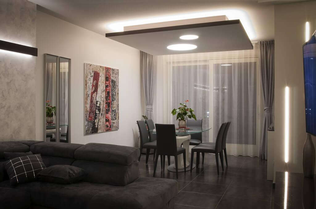 Vendita lampade e lampadari saronno como e varese - Illuminazione sala pranzo ...