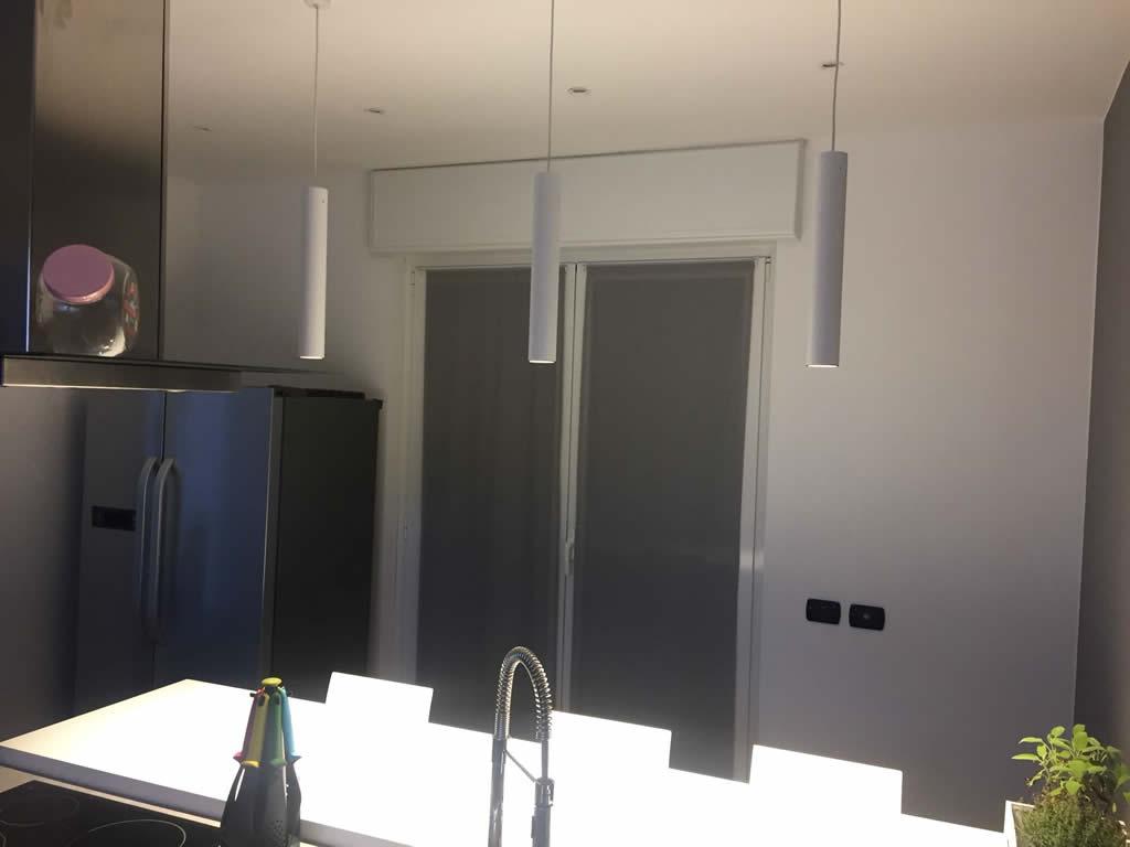 Illuminazione cucina e sala da pranzo gorla la luce - Illuminazione led cucina ...