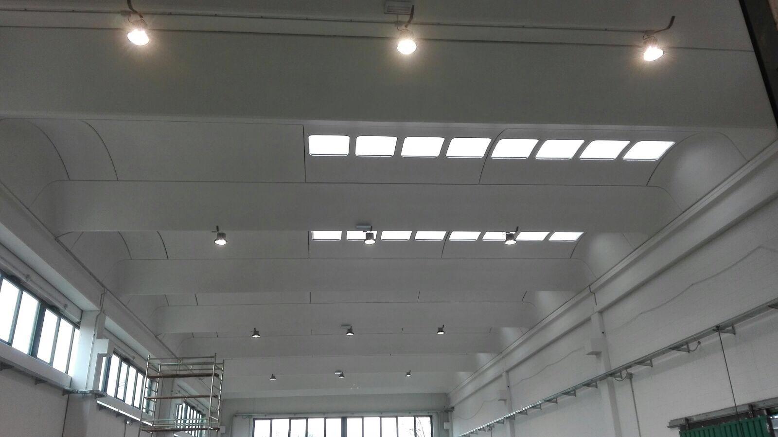 Illuminazione industriale e commerciale la luce